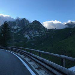 Rennradtour Sanremo - Bolzano: Serpentinen Grosser Sankt Bernhard