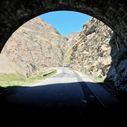 Rennradtour Sanremo - Bolzano: Tunnel am Col d'Iseran