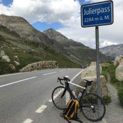 Rennradtour Sanremo - Bolzano: Julierpass (2284m)