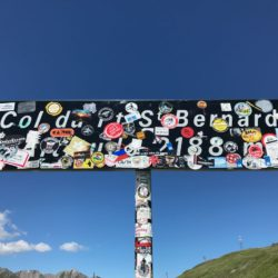 Rennradtour Sanremo - Bolzano: Kleiner Sankt Bernhard (2188m)