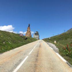 Rennradtour Sanremo - Bolzano: Finale Kleiner Sankt Bernhard