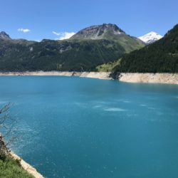 Rennradtour Sanremo - Bolzano: Lac de Cevril