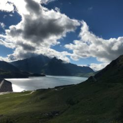 Rennradtour Sanremo - Bolzano: Lac du Mont Cenis