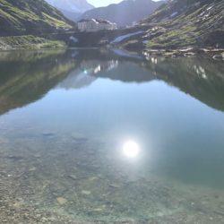 Rennradtour Sanremo - Bolzano: Lago di Gran San Bernardo