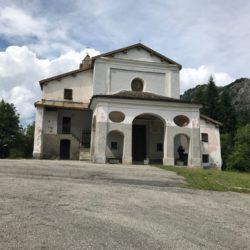 Rennradtour Sanremo - Bolzano: Madonna del Coletto (1304m)