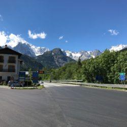 Rennradtour Sanremo - Bolzano: Mont Blanc