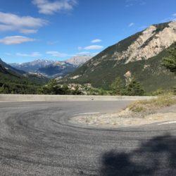 Rennradtour Sanremo - Bolzano: Serpentinen Montgenevre
