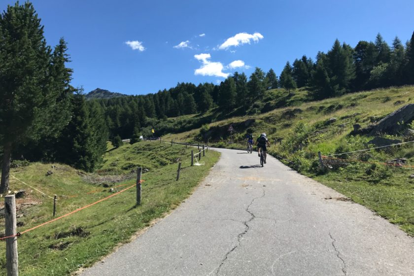 Rennradtour Sanremo - Bolzano: Mortirolo Finale