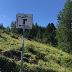 Rennradtour Sanremo - Bolzano: Mortirolo Kehre 1
