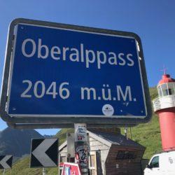 Rennradtour Sanremo - Bolzano: Oberalppass (2046m)
