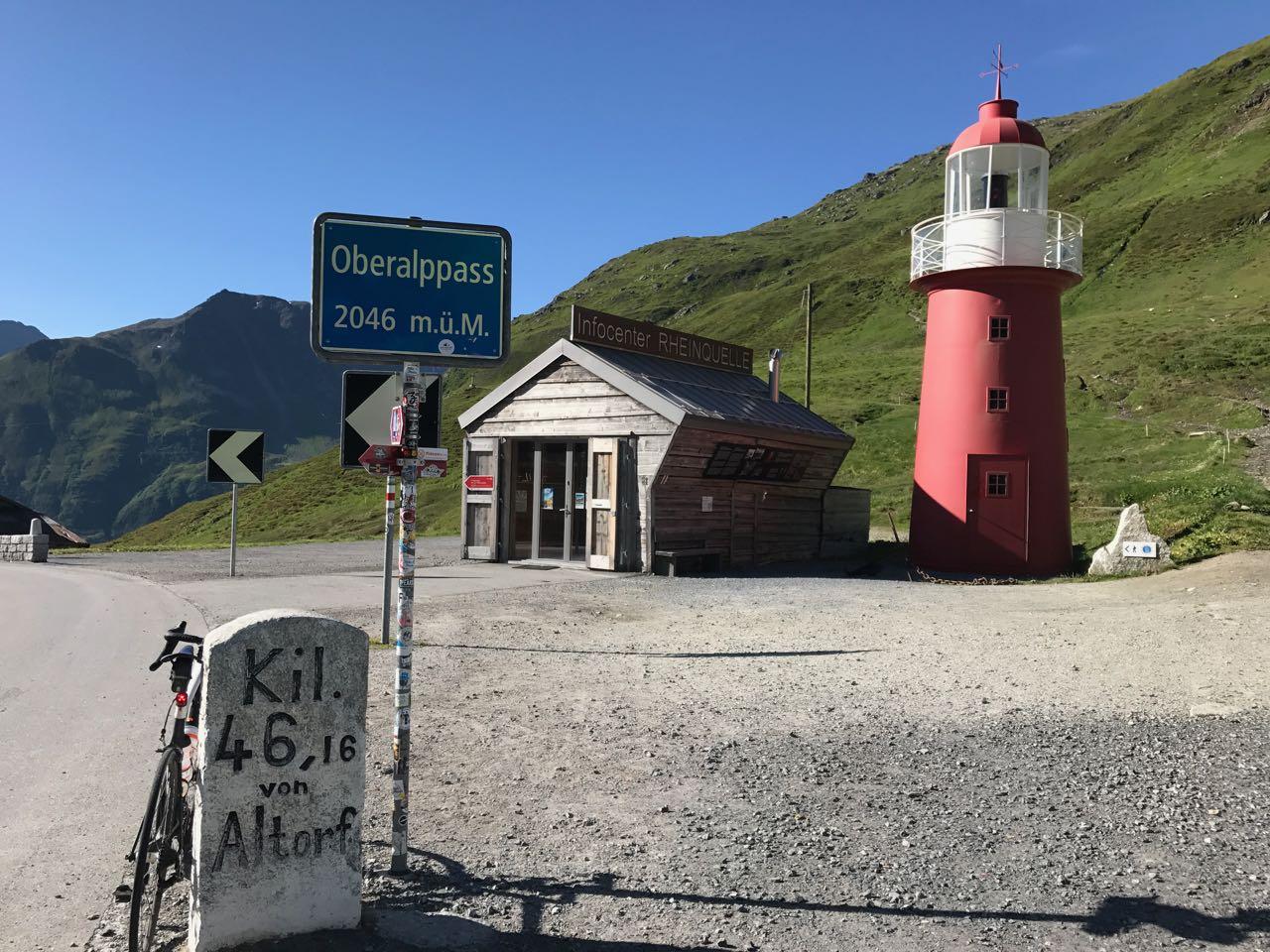 Rennradtour Sanremo - Bolzano: Höchster Leuchtturm