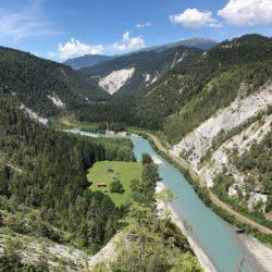 Rennradtour Sanremo - Bolzano: Der junge Rhein