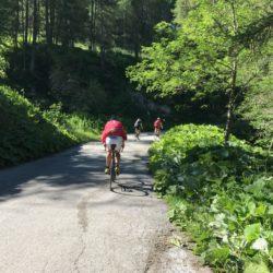 Rennradtour Sanremo - Bolzano: Samstagmorgentraining
