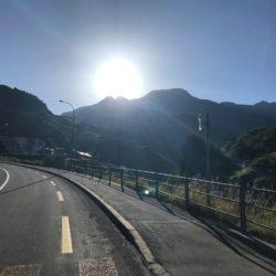 Rennradtour Sanremo - Bolzano: Start Oberalppass