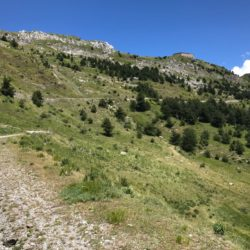 Rennradtour Sanremo - Bolzano: Fort am Colle Tenda