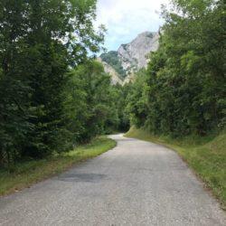 Rennradtour Sanremo - Bolzano: Anstieg Valdieri