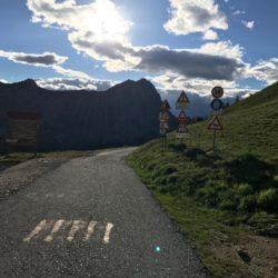Rennradtour Sanremo - Bolzano: Abfahrt Valmaira