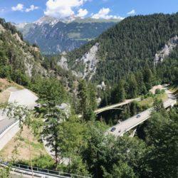 Rennradtour Sanremo - Bolzano: Versam