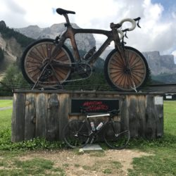 Rennradtour Grödner Joch - Würzjoch: Corvara