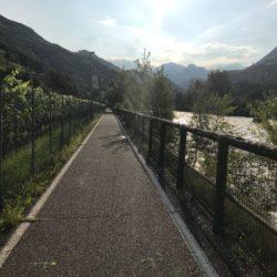 Rennradtour Grödner Joch - Würzjoch: Eisacktal Radweg