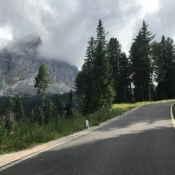 Rennradtour Grödner Joch - Würzjoch: Peitlerkofel