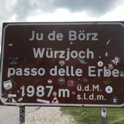 Rennradtour Grödner Joch - Würzjoch: Würzjoch (1987m)