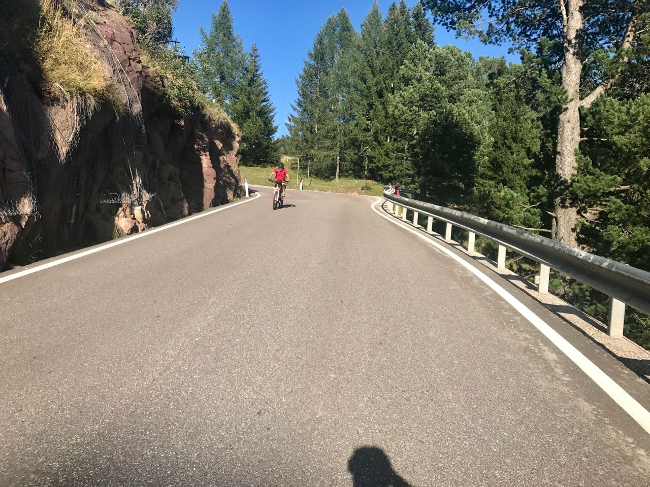 Rennradtour Manghenpass - Lavazepass /