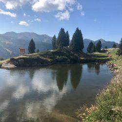 Rennradtour Manghenpass - Lavazepass / Lago di Cadinel
