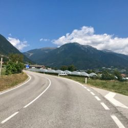 Rennradtour Manghenpass - Lavazepass / Telve