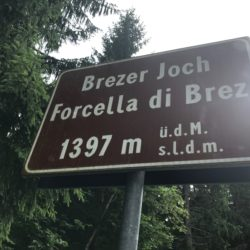 Rennradtour Nonstal / Brezer Joch (1397m)
