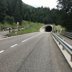 Rennradtour Nonstal / Letzter Tunnel vor dem Hofmahdjoch