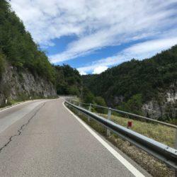 Rennradtour Nonstal / Start Brezerjoch
