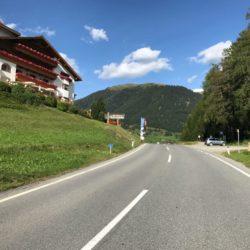 Rennradtour Ofenpass - Norbertshöhe - Reschenpass / Norbertshöhe (1461m)