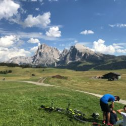 Rennradtour Panidersattel - Seiseralm / Alpe di Siusi