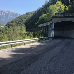 Rennradtour Panidersattel - Seiseralm / Tunnel vor Völs